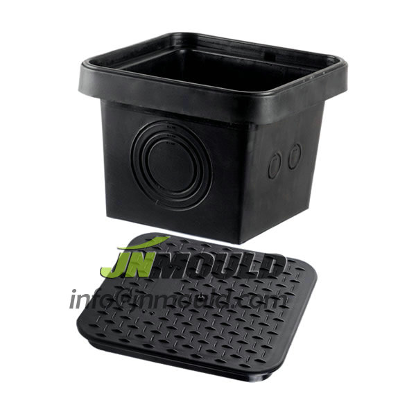 china plastic toolbox mould