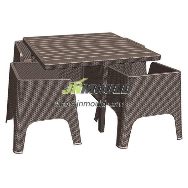 china plastic garden furniture mould