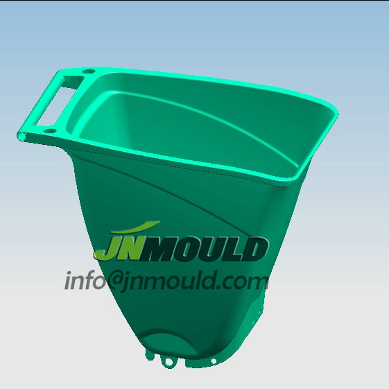 plastic dust bin mould
