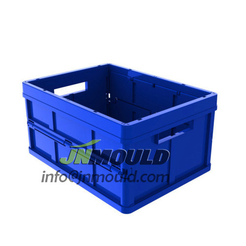 folding crate mould