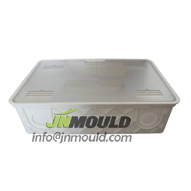china plastic drain box mould
