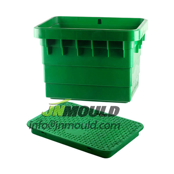 plastic drain box mold