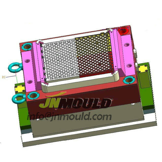 plastic low price crate mould